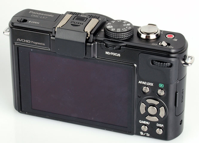 Panasonic Lumix Dmc Lx7 Rear