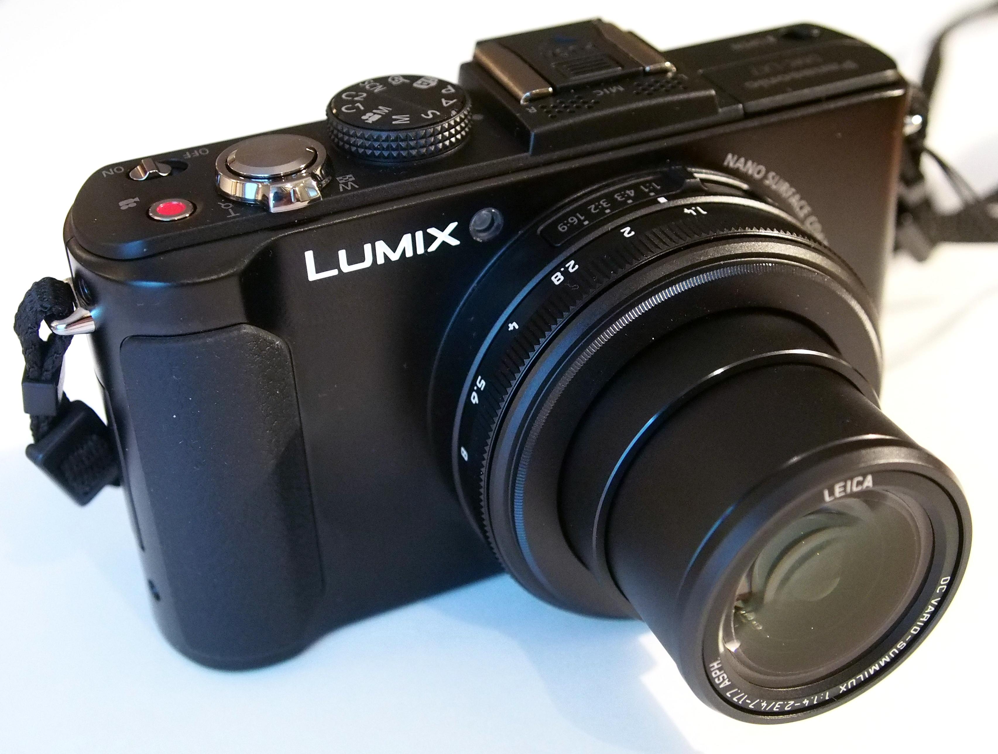 Panasonic lumix dmc-lx7 manuals.
