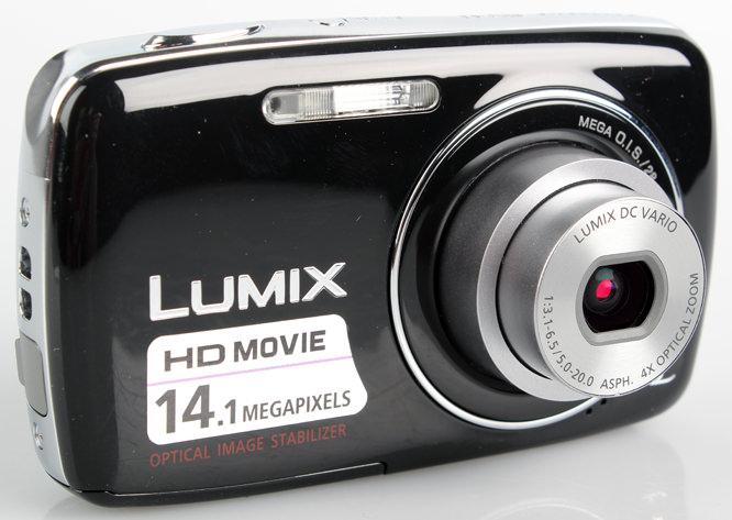 Panasonic Lumix DMC-S3 lens extended