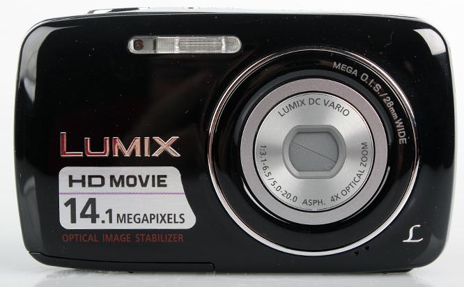 Panasonic Lumix DMC-S3 front
