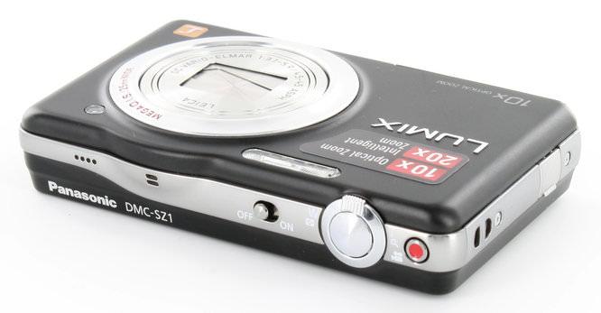 Panasonic Lumix DMC-SZ1 Top