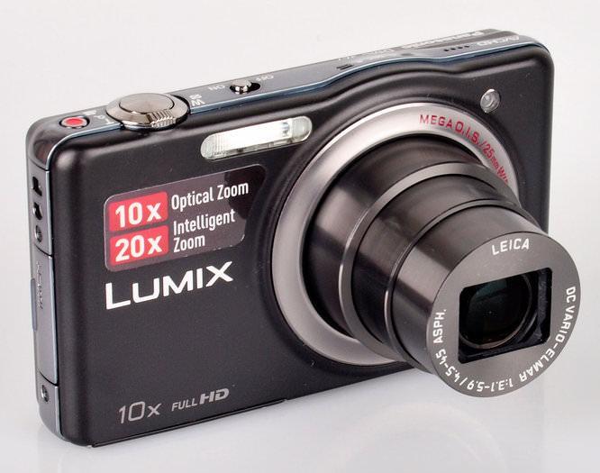Panasonic Lumix Dmc Sz7 Lens Extended