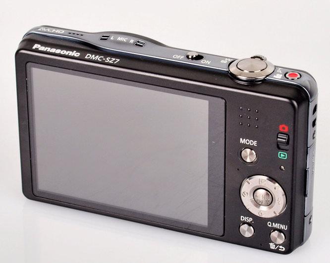 Panasonic Lumix Dmc Sz7 Screen