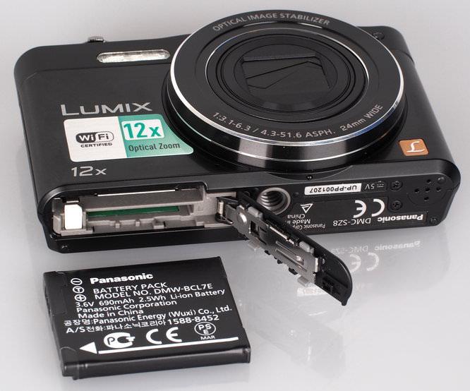 Panasonic Lumix DMC SZ8 Black (9)