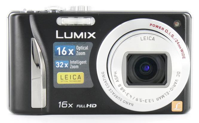 Panasonic Lumix Tz25 Front