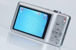 Panasonic Lumix DMC-FS30 rear view