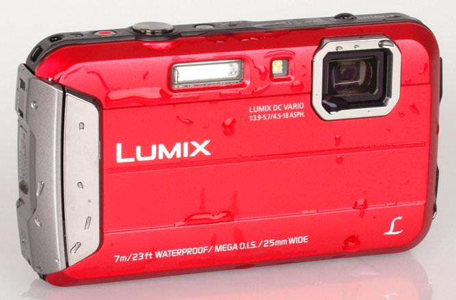 Panasonic Lumix DMC FT25 Red (3)