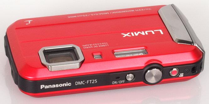 Panasonic Lumix DMC FT25 Red (6)