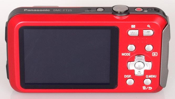 Panasonic Lumix DMC FT25 Red (7)