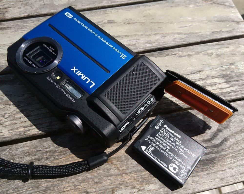Panasonic Lumix FT7 Battery (Custom)