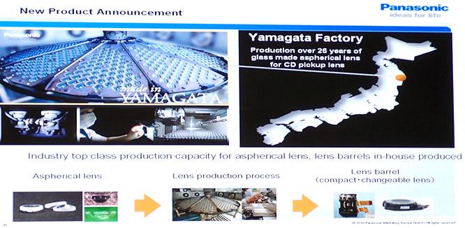 Panasonic Yamagata Factory