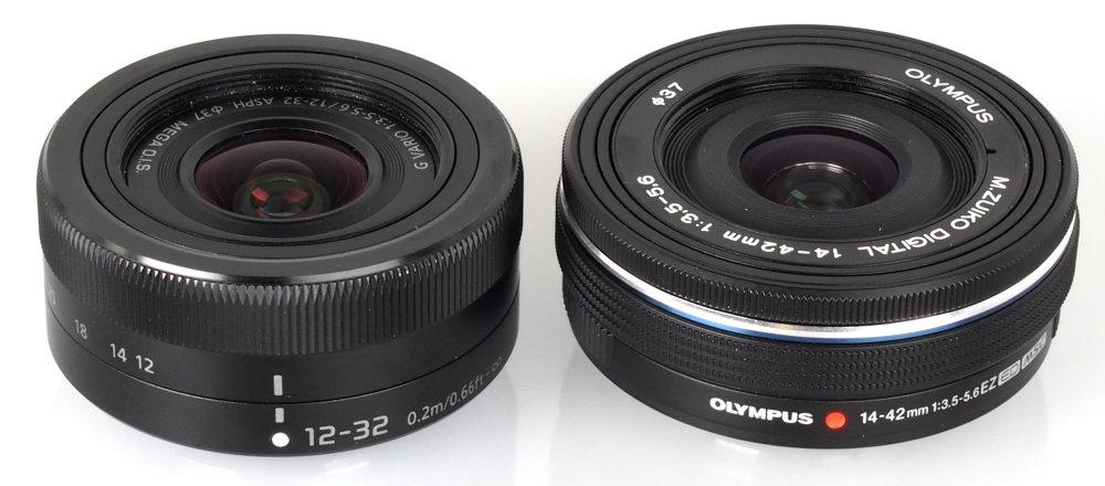 Panasonic 12 32mm Vs Olympus 14 42mm EZ Lens (3)