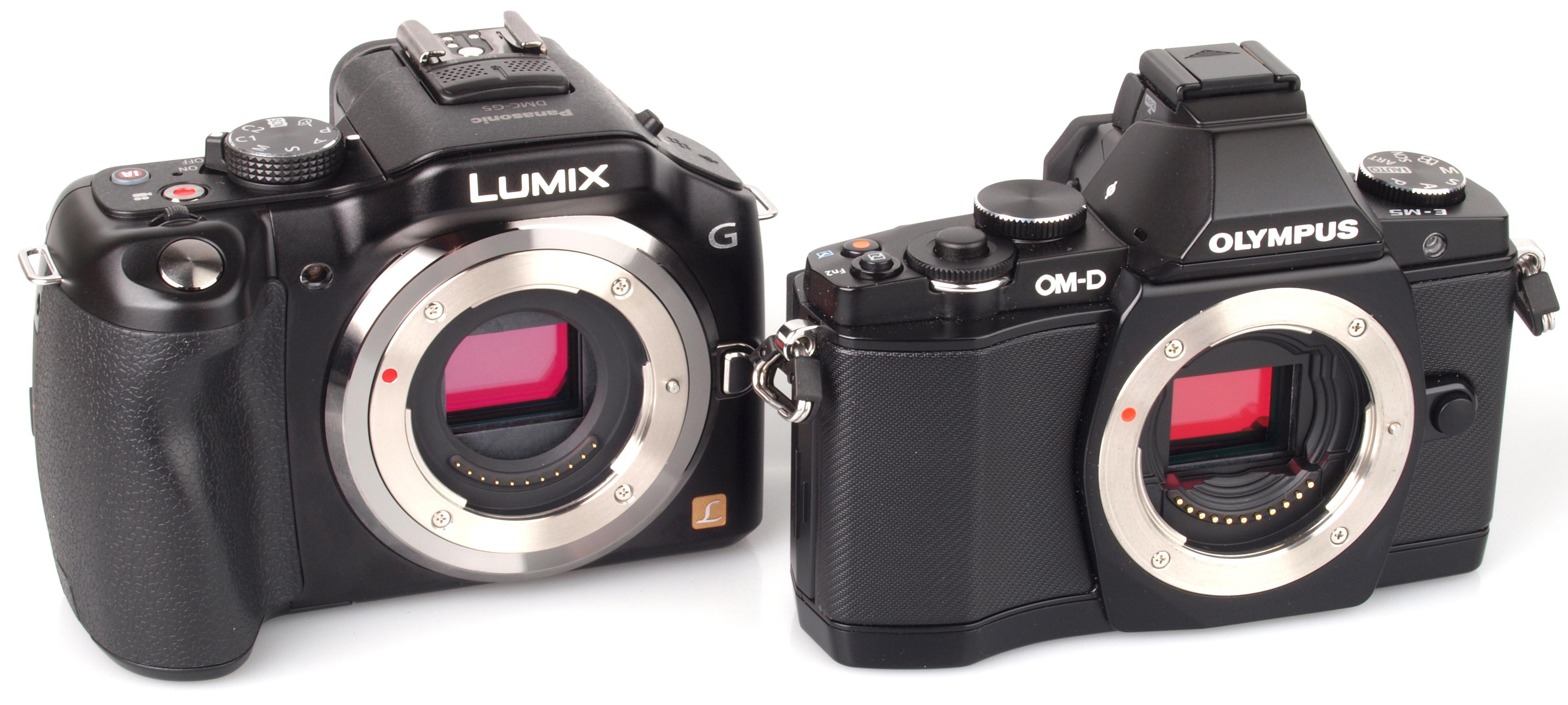 Panasonic Lumix G5 Vs Olympus OM-D E-M5