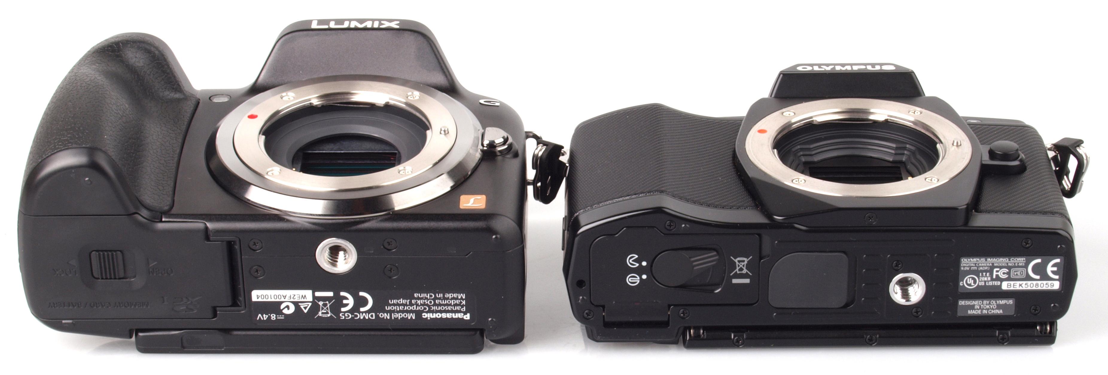 Panasonic Lumix G5 vs Olympus OM-D E-M5 Review .
