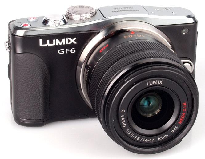 Panasonic Lumix GF6 Angle
