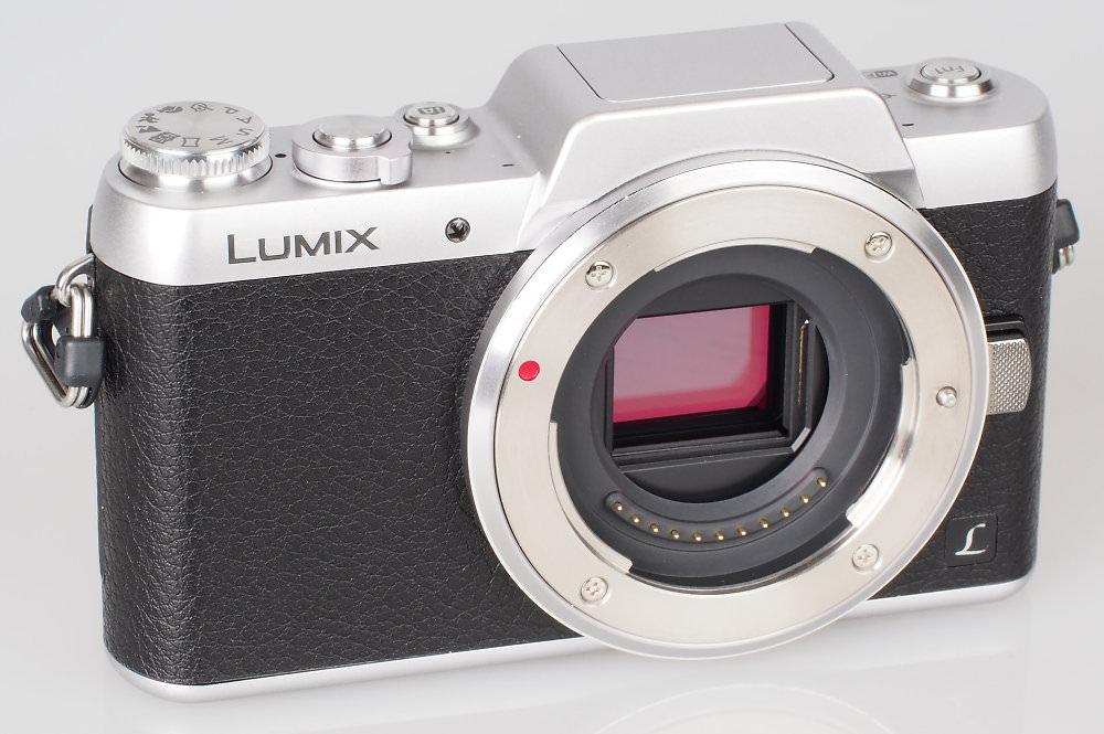 Panasonic Lumix GF7 Silver (7)