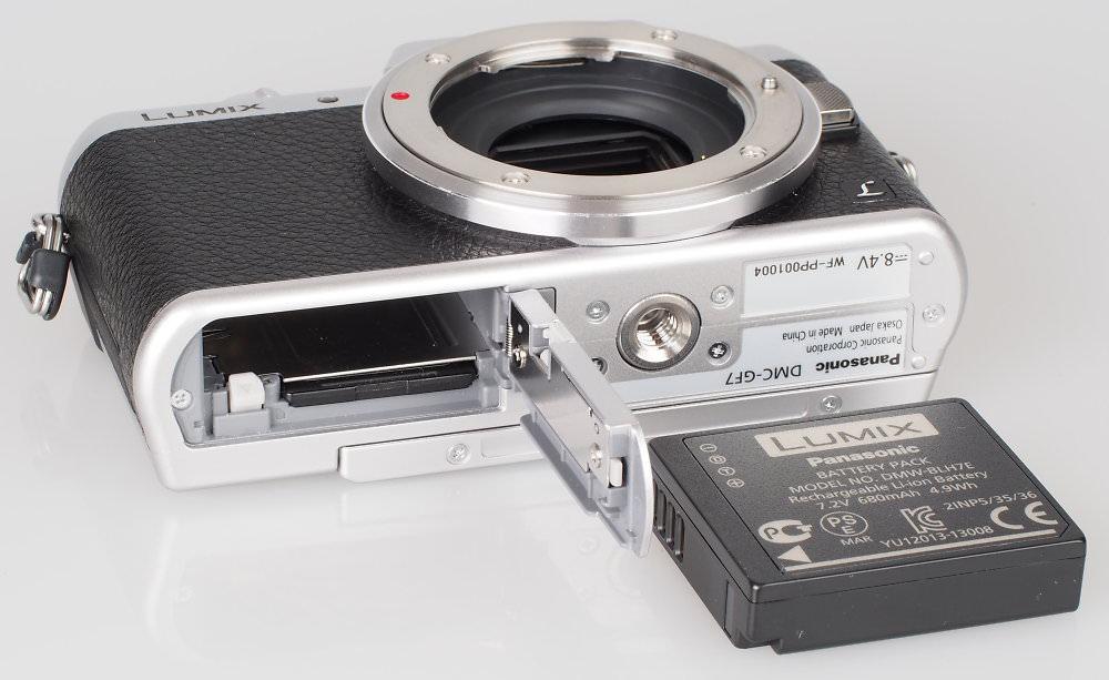Panasonic Lumix GF7 Silver (8)