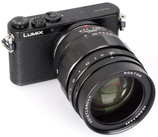 Panasonic Lumix GM1 With Voigtlander 42 5 Mm Lens 2