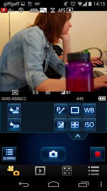 Panasonic GM1 Wi Fi App tela 2014 10 20 14 15 02