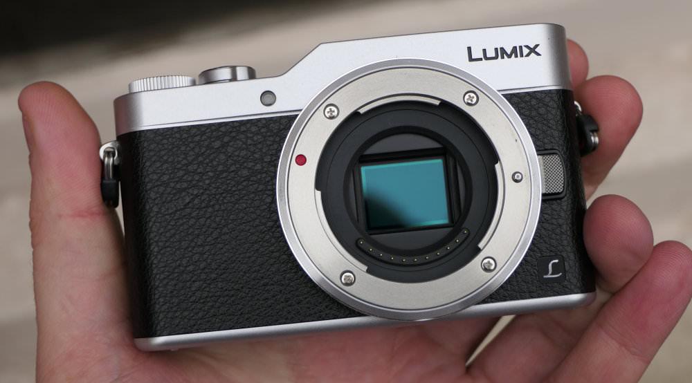 Panasonic Lumix GX800 Silver In Hand (2)