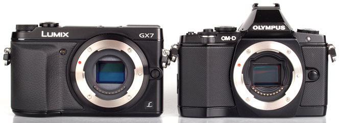 Panasonic Lumix GX7 Vs Olympus OM D E M5 (2)