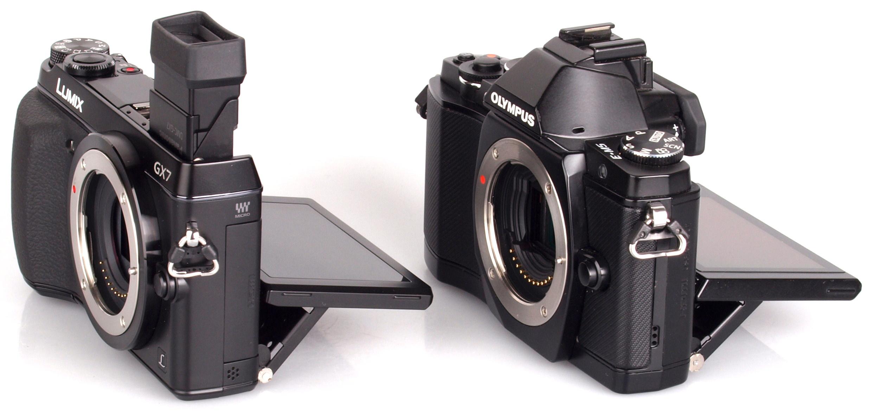 Panasonic GX7 vs Olympus OM-D Em5