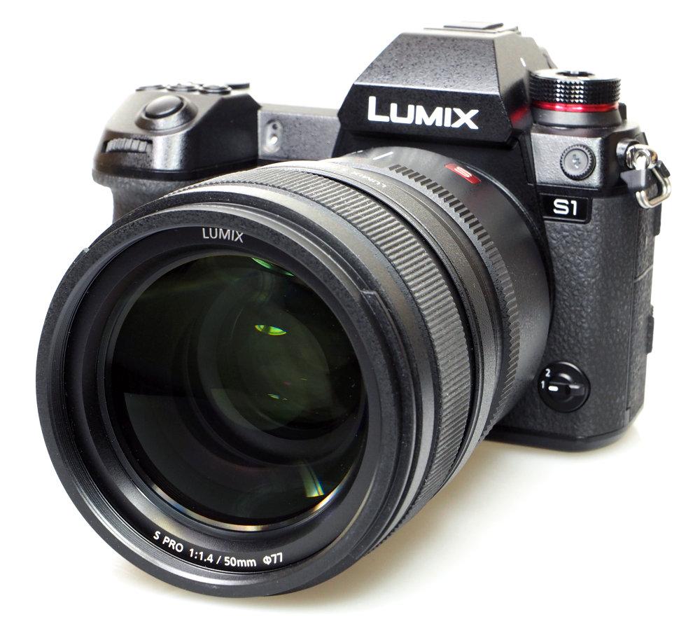 Panasonic Lumix S1 With 50mm (1)