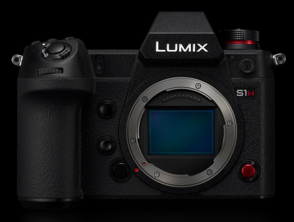 Panasonic Lumix S1H Sensor Close Up
