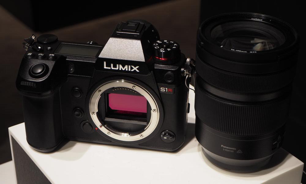 Panasonic Lumix S1R Sensor