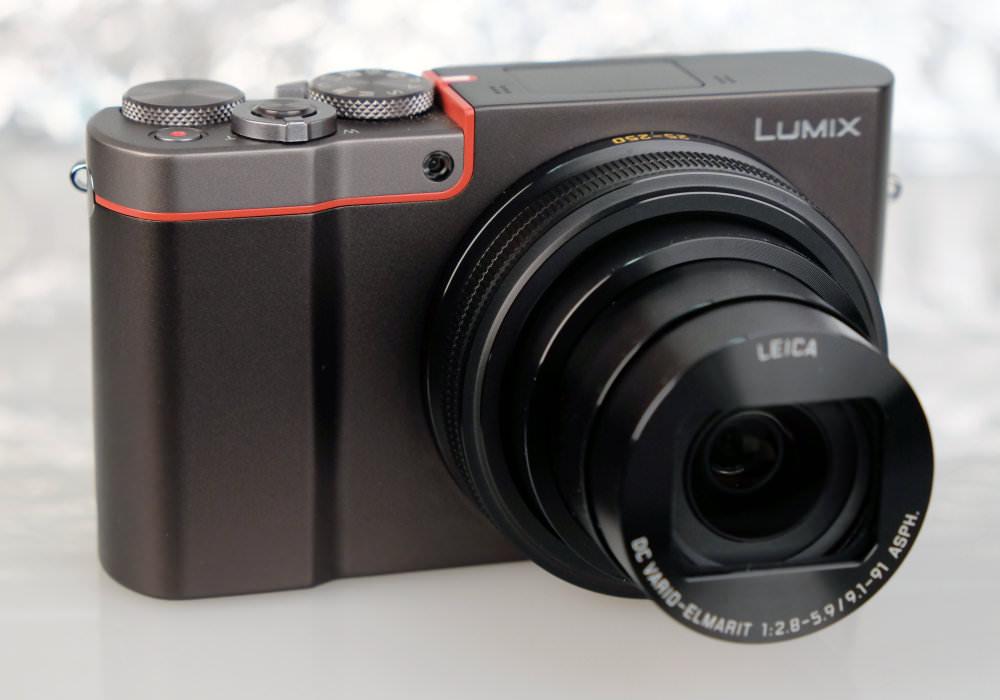 Panasonic Lumix TZ100 Silver (2)