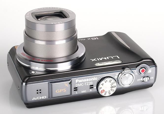 Panasonic Lumix TZ20 GPS