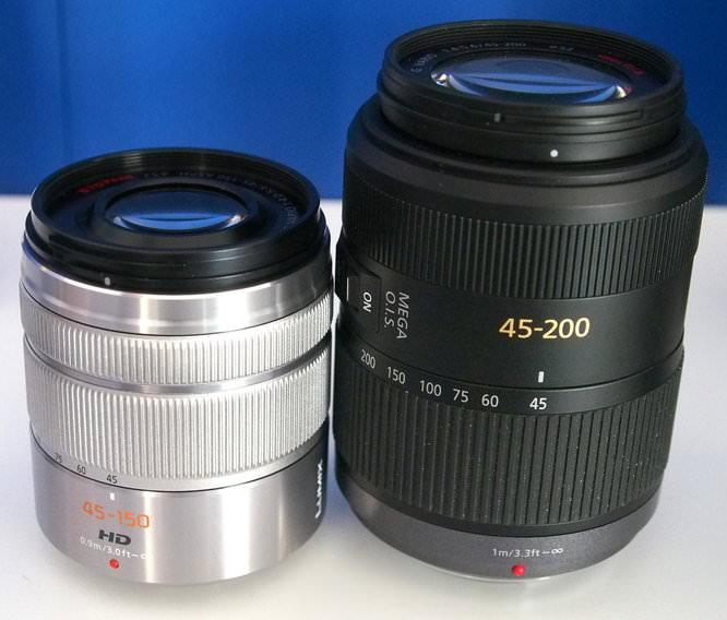 Panasonic Lumix 45 150mm Zoom Lens
