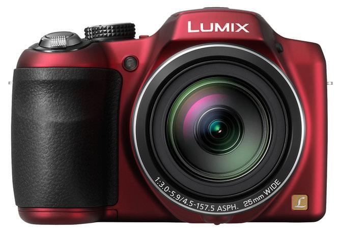 Panasonic Lumix LZ30r Front