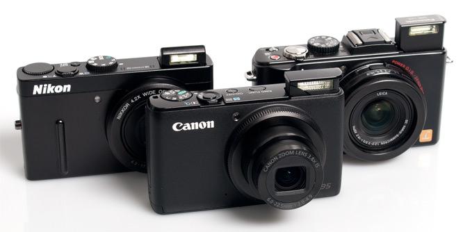 Nikon, Canon, Panasonic pop-up flash