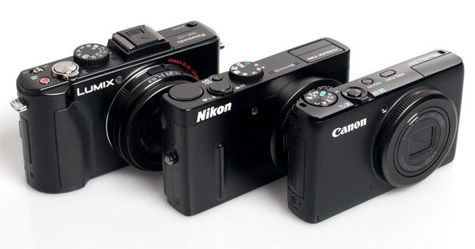 Panasonic, Nikon, Canon Side