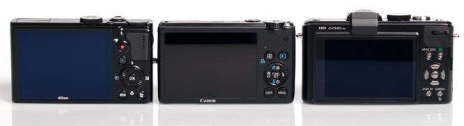 Nikon, Canon, Panasonic Back Screens