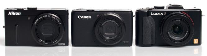 Nikon, Canon, Panasonic