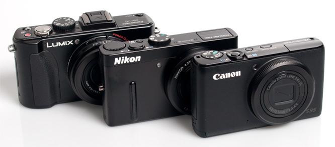 Panasonic, Nikon, Canon