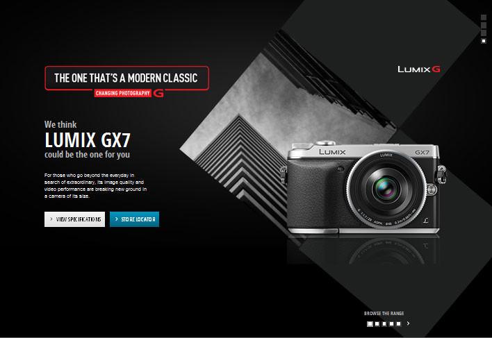 Lumix G Selector