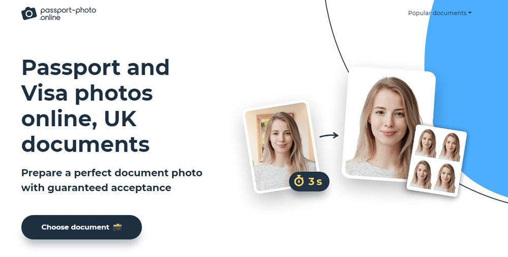 Passport and Visa photos online, UK documents