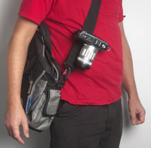 Peak Design Capture Clip - on shoulder strap