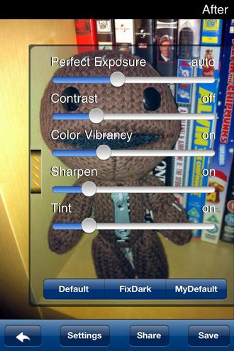 Pefectly Clear iPhone App screenshot