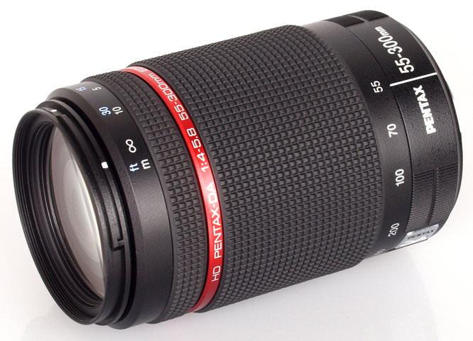 Pentax HD Pentax DA 55 300mm F4 4 8 ED WR Lens (5)