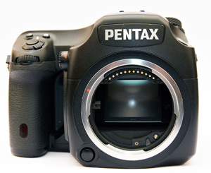 Pentax 645D front