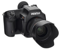 Pentax 645D Medium-Format Digital SLR Camera