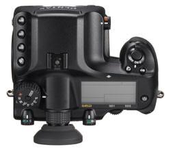 Pentax 645D Medium-Format Digital SLR Camera Top