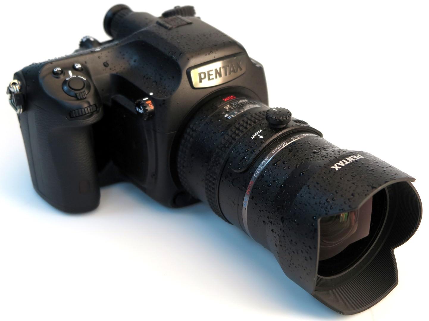 Camera Pentax Dslr Camera Reviews highres pentax 645z weather sealed wet 2 large 1401210795 jpg dslr camera