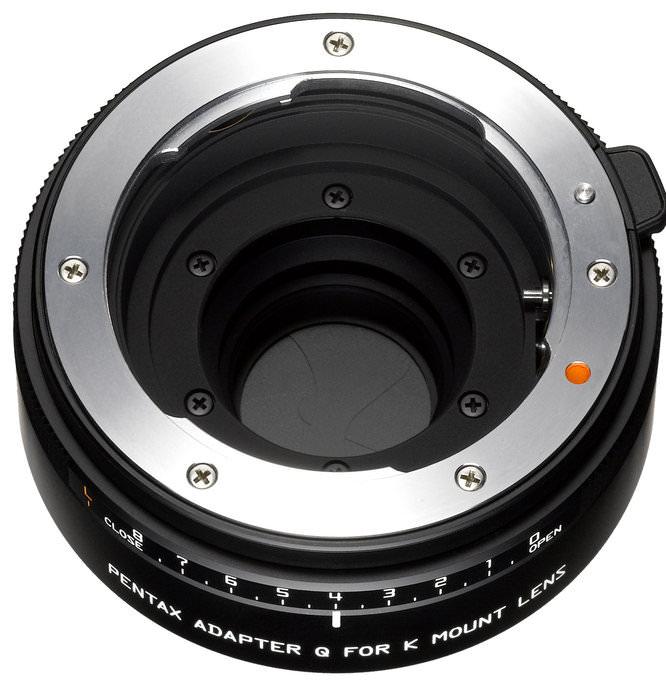 Pentax Adapter Q for K-mount Lenses