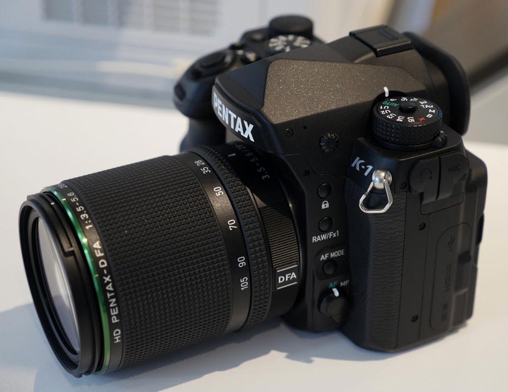 Pentax Announce Their First 35mm Full Frame Dslr Ephotozine