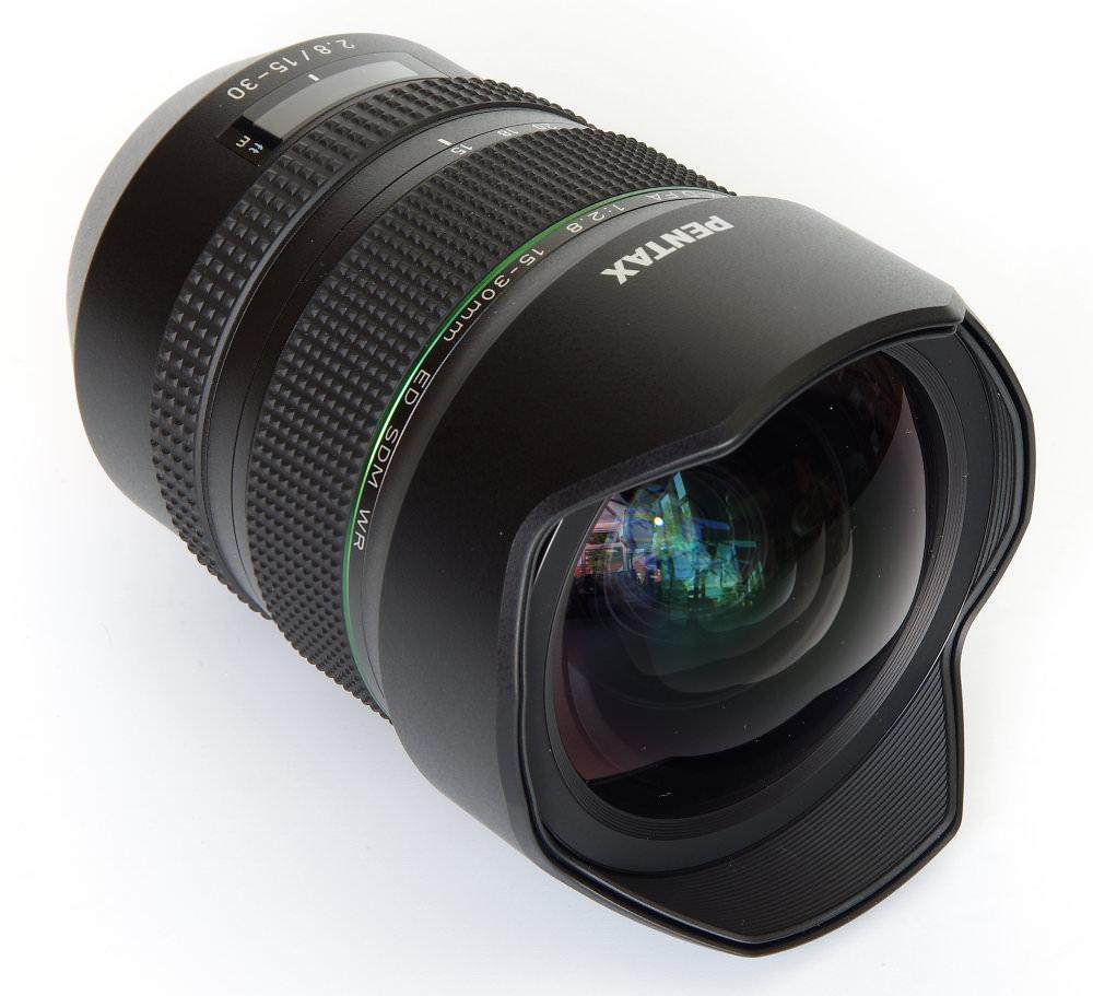 Pentax 15 30mm Front Oblique View